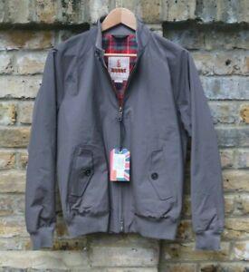 Baracuta G9 Harrington Jacket Grey London Fog Made In England 36 Ebay