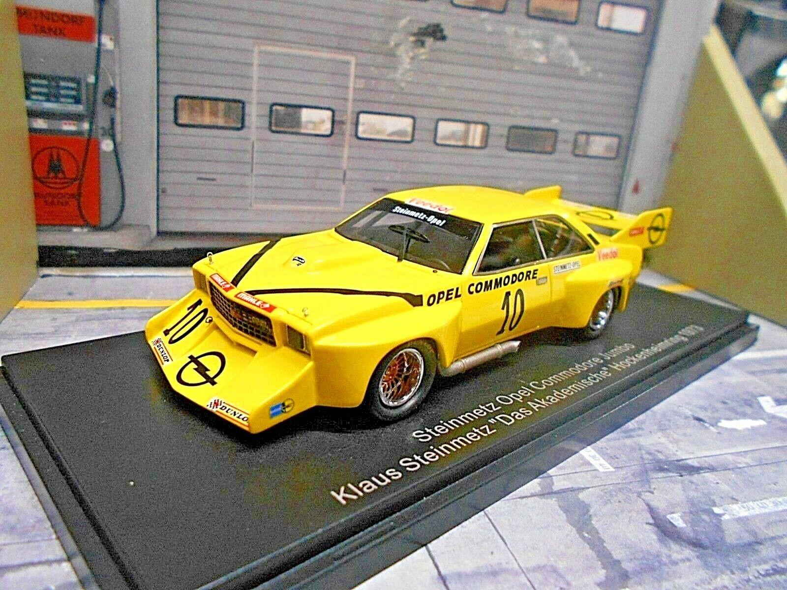 tienda de bajo costo Opel Commodore B cantero    jumbo   10 hockenheim 1973 académico DRM neo 1 43  seguro de calidad