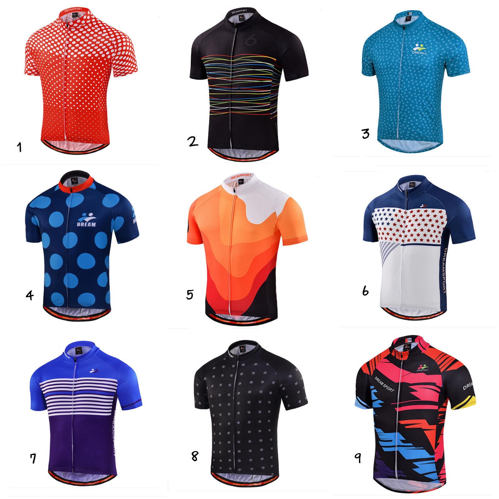 Completo Ciclismo maglietta e salopette Bike Bib MTB maglia bici divisa corsa