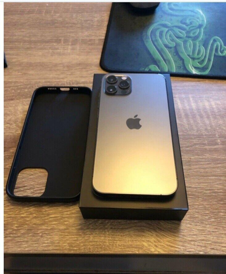 iPhone 12 Pro, 256 GB, grå
