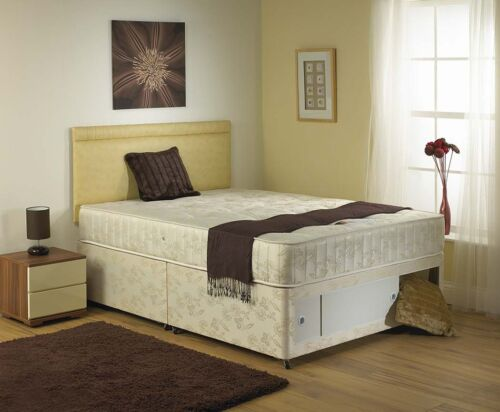 CHEAP PRICE CRYSTAL DIVAN BED 2FT6,3FT,4FT,4FT6,5FT