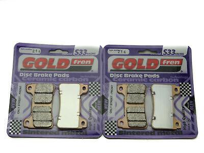 2015 Goldfren S33 Full Brake Pad Set ABS Model Honda VFR 800 F