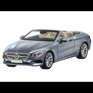 MERCEDES-BENZ-MODELLO-DI-AUTO-1-43-auto-classe-S-a217-CABRIOLET-GRIGIO-b66960352