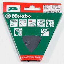 Metabo 24956 5 Haftschleifblätter 1200er Körnung