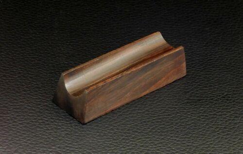 Stifthalter aus Palisander Holz BraunAblage Halter für Füller Schreibgeräte