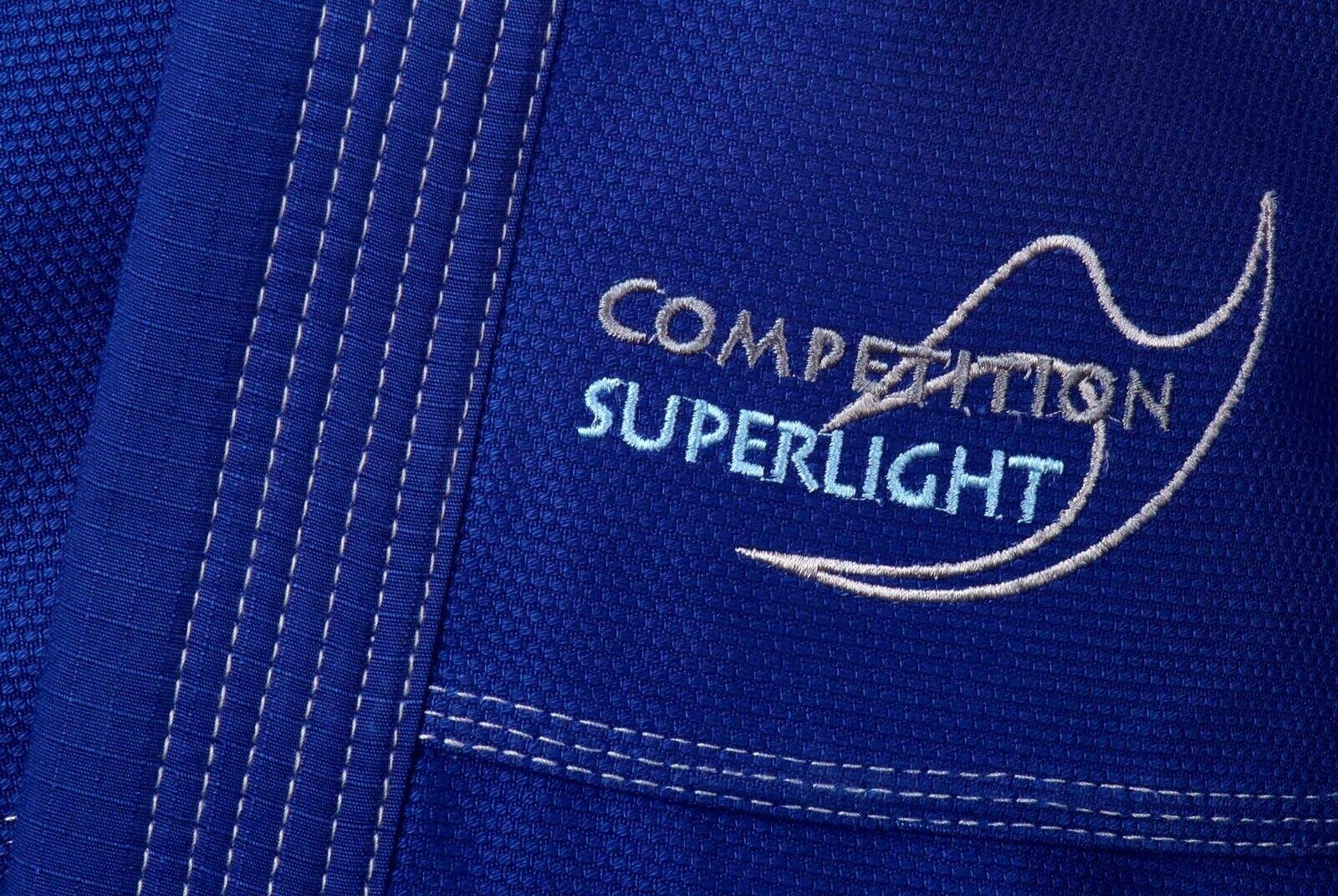 Ju-Sports Brazilian Jiu-Jitsu Kimono Kimono Kimono BJJ-Gi Pearl Competition superlight Blau 66470e