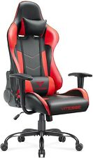 Vitesse Ergonomic Red Gaming Gamer Chair For Adults 400 Lbs Pc Computer Chair