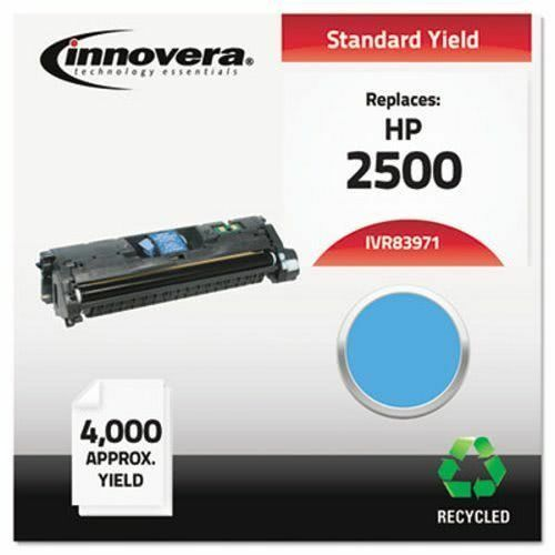 Innovera Remanufactured Q3971A (123A) Laser Toner, 4000 Yield, Cyan (IVR83971)