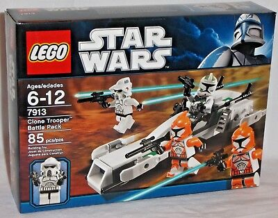 BATTLE PACK 7913 BLASTER ORANGE LEGO Star Wars: Clone Bomb Squad Trooper