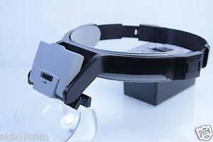 Kasul ® * frente-cabeza lupa de lujo Weiss High End quality 4 lentes las baterías +  </span>