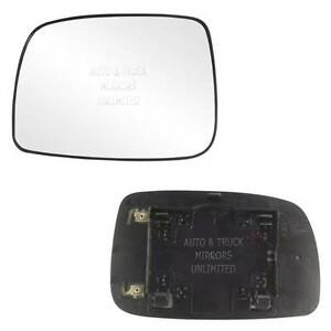 New Mirror Glass With Backing Heated 07 11 Toyota Camry