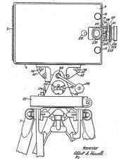 Antike Filmkamera, Filmprojektor: Bell & Howell Co. - Histor. Infos 1907-