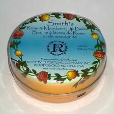 Rosebud Smiths Lip Balm Rose and Mandarin 0.8 Ounce