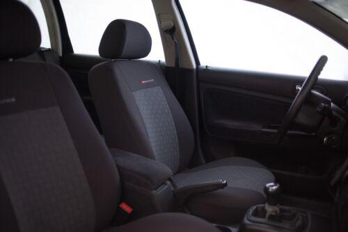 Sitzbezüge Sitzbezug Schonbezüge für Skoda Fabia Vordersitze Elegance P1