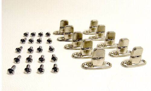 NO SCREWS INCLUDED 10 PK HUMVEE HUMMER H1 M998 TOP COVER METAL TURN BUCKLES