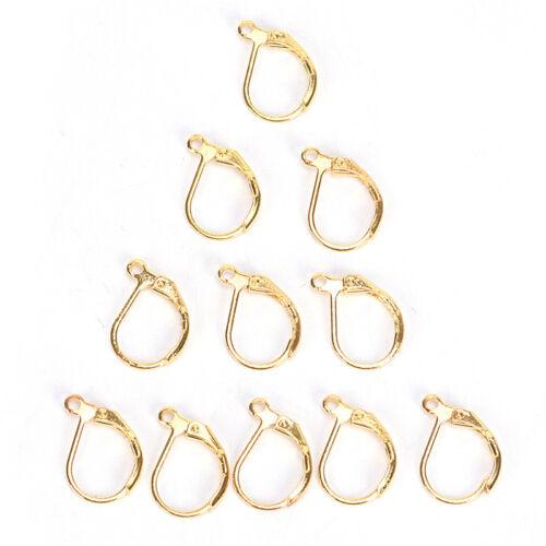50PCS//100PCS French Earring Lobster Clasps Hooks Findings DIY Jewelry