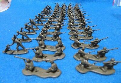 bazooka teams X30 and mortars X 10 Giant brand vintage 1960/'s HO WWII U.S