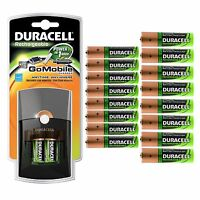 Duracell® Go Mobile Battery Charger Power In 1 Hr With 10 Aa & 10 Aaa Batteries