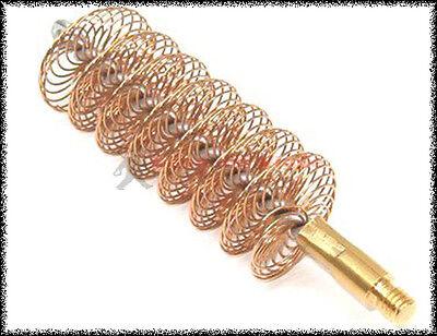 Scovolo fucile bronzo vite inglese per la pulizia delle armi  calibro 12 20 36