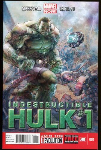 INDESTRUCTIBLE HULK #1 REGULAR COVER NEW NEAR MINT 2012