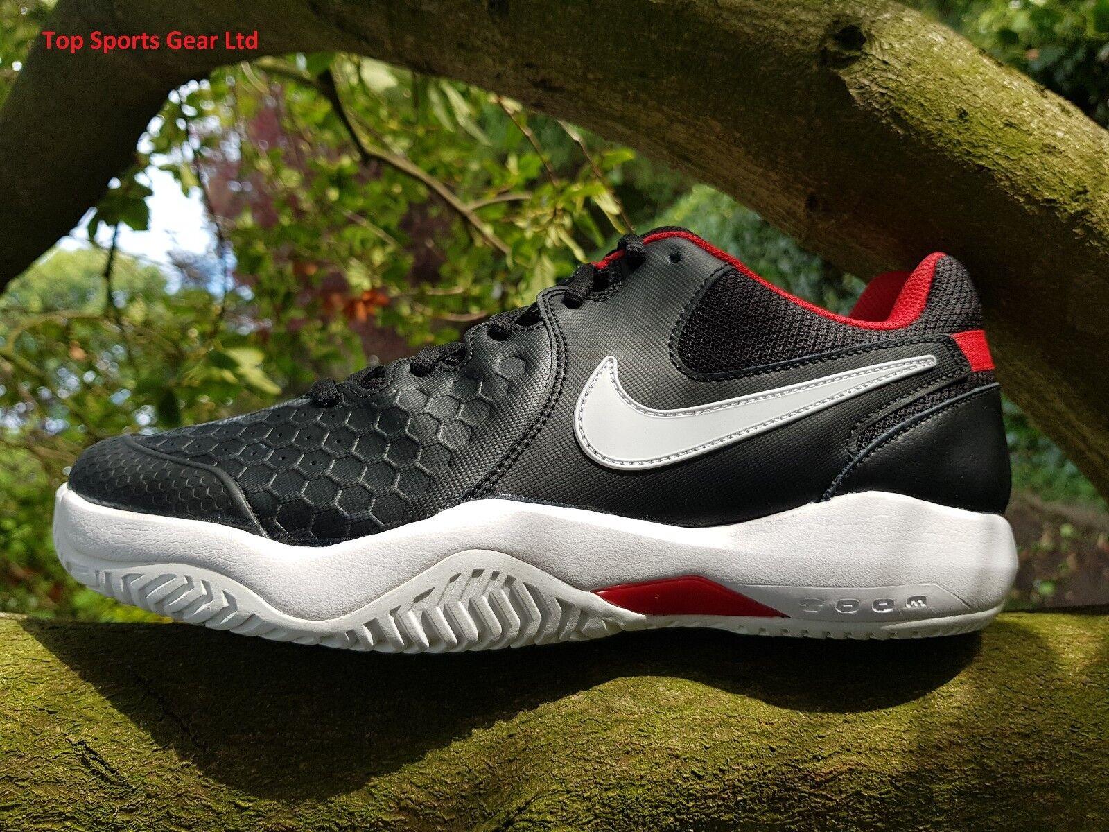 Nike Air Zoom Resistance Tennis Sports Comfortable Trainers Black BNIB UK 6 - 12