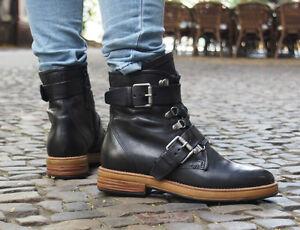 brand new 6f760 093b6 Details zu MJUS Schuhe RETURN 204216 nero Boots schwarz Echtleder  Damenschuhe NEU 180 EUS