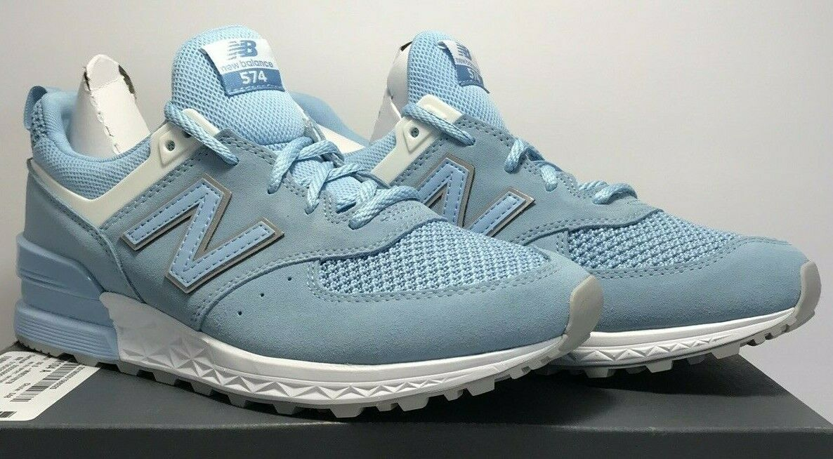 New Balance Mens Size 9.5 574 Fresh Foam Sport Running shoes bluee MS574STB