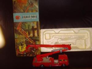 Corgi 1127 Bedford Simon Snorkel Fire Engine en boîte
