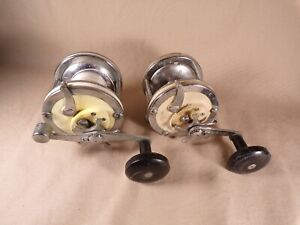 Lot-of-2-Garcia-Mitchell-622-Fishing-Reel-Made-in-France