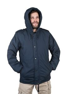 on sale 8ab3a a8d00 Details zu IDF Navy Blue Doobon/Dubon Cold Weather Hooded Coat Parka by  Hagor Israel