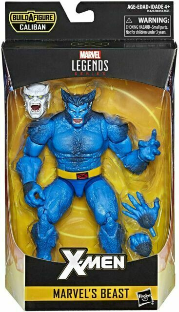 "Hasbro Marvel Legends X-men 6/"" Figura De Ação Fera Baf Caliban Hasbro"