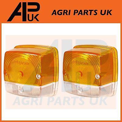 APUK Front Side Light Lamp Lens compatible with Case International IH David Brown John Deere Tractor