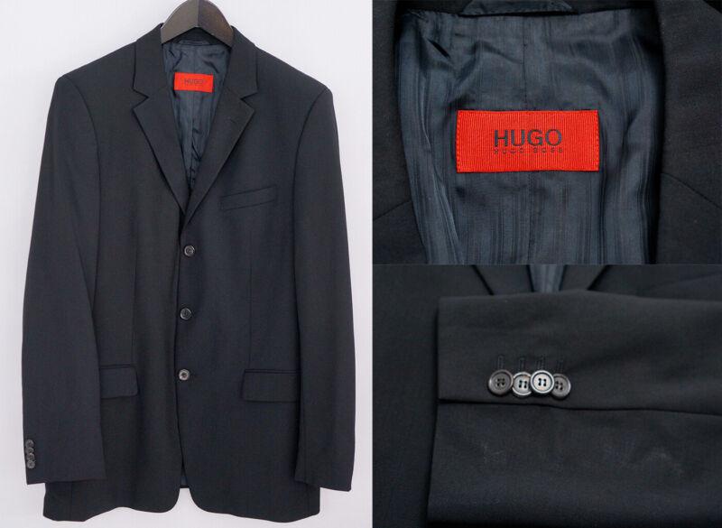 Herren Hugo Boss Jacke Blazer Albo/hago Wolle M It48 Us Uk 38 Qba867