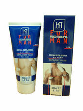 MENS HAIR REMOVAL REMOVER DEPILATORY CREAM LOTION BODY CHEST BACK LEGS ARMS MALE