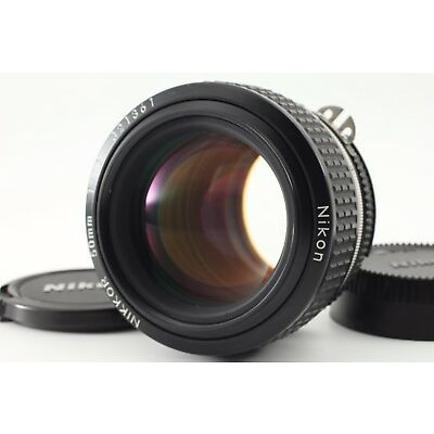 【MINT+】 Nikon Ai-S 50mm f1.2 Manual Focus lens AIS from Japan 1030