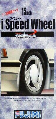 "Fujimi 19270 TW-02 1//24 Scale Model Car Parts i-Speed 15/""inch Wheel /& Tire Set"