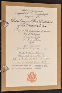 2013-Barack-Obama-Presidential-Inauguration-Ceremony-GOLD-Embossed-Ticket-POTUS