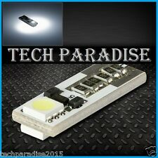 1x Ampoule T10 W5W W3W 2 LED SMD CanBus Anti erreur Blanc White veilleuse 12V