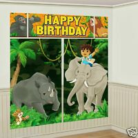 Go Diego Go Diego's Biggest Rescue Wall Decoration Scene Setter Decorations
