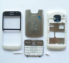 New White Cover Housing Fascia Case Nokia E5-00+Keypad+Tool