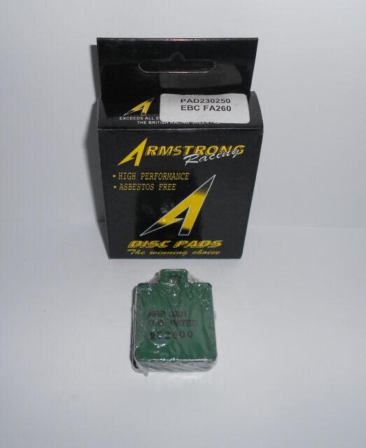 Armstrong PAD230250 Brake Pads (EBC FA260) Benelli Gilera Piaggio Vespa HH Rated