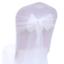 miniature 3 - 25x-White-Organza-Chair-Sashes-Bows-Ties-Wedding-Banquet-Party-Venue-Decoration