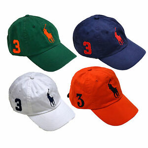 2fe30ac912406 Polo Ralph Lauren Hat Ball Cap Big Pony Baseball Mens One Size ...