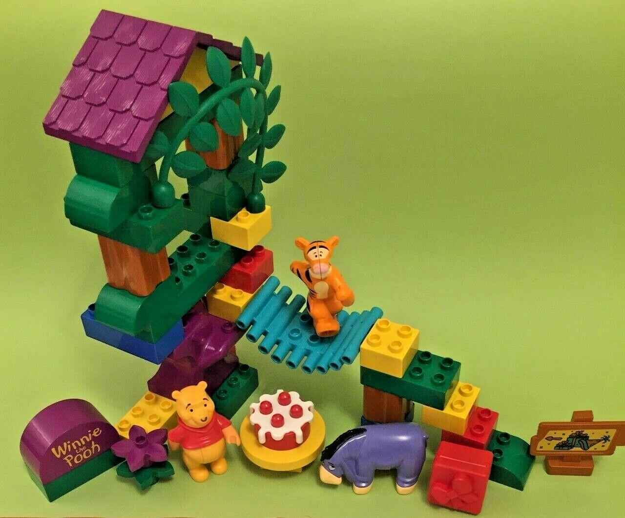 Lego Duplo Tigger's  Baumhaus tree house 2990 complete + Winnie Pooh`s Party 2982  en ligne pas cher