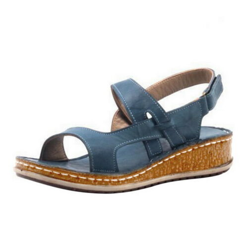 Hot Women/'s Summer Breathable Open Toe Adujustable Strap High Heel Casual Sandal