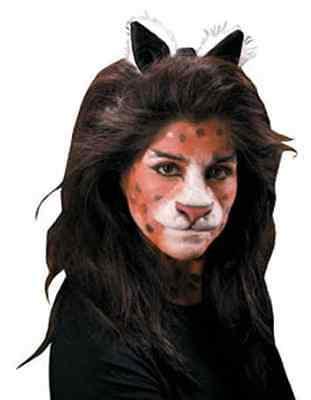 Cat Nose Lion Jungle Animal Dress Up Halloween Costume Makeup Latex Prosthetic