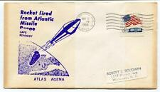 1966 Rocket Atlantic Missile Range Cape Kennedy Patrick Air Force Base Atlas USA