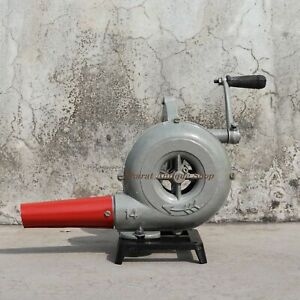Forge-Furnace-Vintage-Style-With-Hand-Blower-Pedal-Type-Handle-Blacksmith