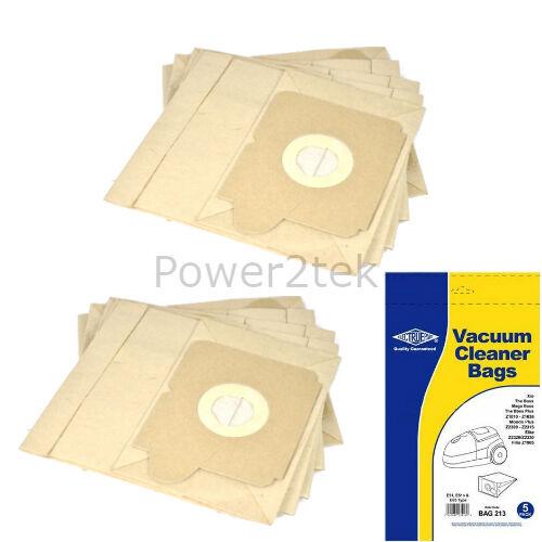 E51n E65 Sacchetti per aspirapolvere per Electrolux x 2315 X2315 XIO HOOVER UK 10 x E51