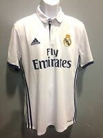 Real Madrid 7 Ronaldo White Jersey Authentic Adidas Name And Number